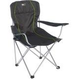 High Peak Salou stoel Zwart/groen