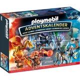 PLAYMOBIL Adventskalender - Novelmore - Strijd om de magische Steen 70187