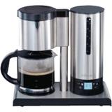Cloer Koffiezetapparaat 5609 koffiefiltermachine Edelstaal/zwart