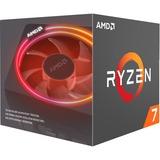 AMD Ryzen 7 2700X, 3,7 GHz (4,35 GHz Turbo Boost) socket AM4 processor Unlocked, Wraith Prism cooler, Boxed