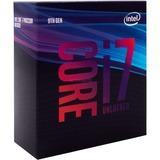 "Intel® Core i7-9700K, 3.6 GHz (4.9 GHz Turbo Boost) socket 1151 processor ""Coffee Lake-R"", Unlocked, Boxed"