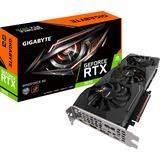 GIGABYTE GeForce RTX 2070 Windforce 8G grafische kaart HDMI, 3x DisplayPort, USB-C