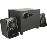 Trust Avora 2.1 Subwoofer Speaker set pc-luidspreker Zwart