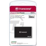 Transcend MultiReader RDF2 CFAST    USB3 kaartlezer Zwart