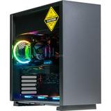 ALTERNATE Gamer Starter GTX 1660 Ti pc-systeem Zwart, 16 GB, Gb-LAN, Windows 10