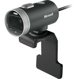 Microsoft LifeCam Cinema USB webcam Zwart/zilver, Retail