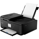 Canon Pixma TR7550 all-in-one printer Zwart, Printen, Scannen, Kopiëren, Faxen, WLAN
