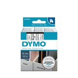 Dymo D1 standaard labels, 12 mm x 7m printlint