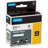 Dymo IND labels van flexibele nylon 24mm x 3,5m printlint