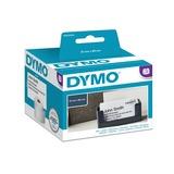 Dymo LW afspraaketiketten, 51 mm x 89 mm printlint Wit