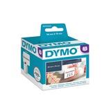 Dymo LW multi-functionele etiketten, 54 mm x 70 mm printlint Wit
