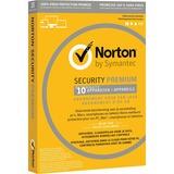 Symantec Norton 3.0 Premium software 10 gebruikers, 1 jaar
