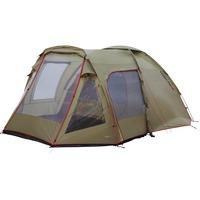 High Peak Amora 5 tent Olijfgroen/rood