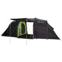 High Peak Tauris 6 tent Donkergrijs/groen