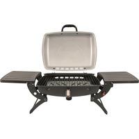 Outwell Roast Gas BBQ met zijtafeltjes barbecue Grijs/zilver