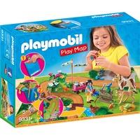 PLAYMOBIL Country - Ponyrijders met plattegrond 9331