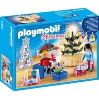 PLAYMOBIL Woonkamer in kerststijl 9495