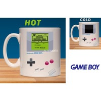 Paladone Nintendo: Game Boy Heat Change Mug mok Grijs