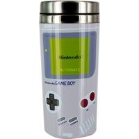 Paladone Nintendo: Gameboy Travel Mug beker Grijs