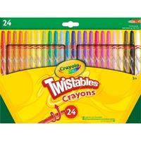 Crayola 24 Draaiwaskrijt tekenen
