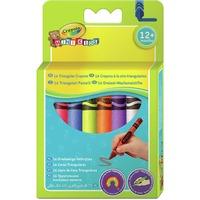 Crayola Mini Kids - 16 Driehoekige waskrijtjes tekenen