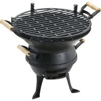 Landmann Gietijzeren barbecue 0630 Zwart