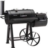 Landmann Tennessee 400 Smoker barbecue Zwart