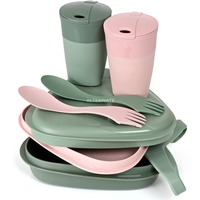 Light my Fire Light my Fire Pack´n EatKit BIO for 2 gn servies Groen/pink (roze)