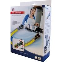 """Scanpart Gasslang aansluitset 1/2"""" 75cm RVS flex PVC"""