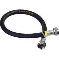 Scanpart Rubber gasslang, 60 cm Zwart
