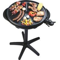 Steba Barbecue Grill VG 300 Zwart, Met tafelgrill mogelijkheid