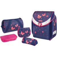 Herlitz Flexi Plus Butterfly Dreams schooltas Lila/pink (roze)