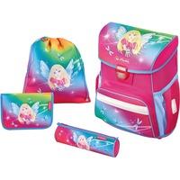 Herlitz Loop Plus Rainbow Fairy schoolset (schooltas, sporttasje en 2 etuis) Pink/blauw