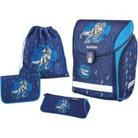 Herlitz Ranzen Midi Plus Blue Dino schooltas Blauw