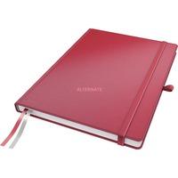 Leitz Complete Notitieboek A4 gelijnd met harde kaft Rood