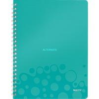 Leitz WOW Notitieboek A4 gelijnd Lichtblauw, spiraalgebonden met PP kaft