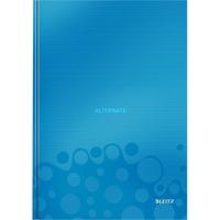 Leitz WOW Notitieboek A4 gelijnd met harde kaft Blauw