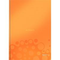 Leitz WOW Notitieboek A4 gelijnd met harde kaft Oranje