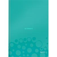 Leitz WOW Notitieboek A4 gelijnd met harde kaft Lichtblauw