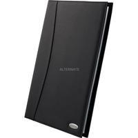 Rexel Soft Touch Displayboeken Nappa Zwart, A4, 24 hoezen