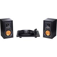 Klipsch R-15PM Turntable Pack platenspeler Zwart, 2x luidspreker, 1x platenspeler