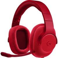 Logitech G433 7.1 Surround Gaming Headset Rood