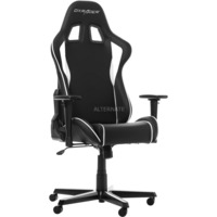 DXRacer Formula Gaming Chair gamestoel Zwart/wit, GC-F08-NW-H1