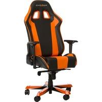 DXRacer King Gaming Chair gamestoel Zwart/oranje, OH/KS06/NO