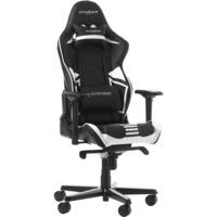 DXRacer Racing Pro Gaming Chair gamestoel Zwart/wit, OH/RV131/NW