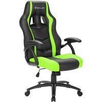 Sharkoon SKILLER SGS1 Gaming Seat gamestoel Zwart/groen