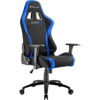 Sharkoon SKILLER SGS2 Gaming Seat gamestoel Zwart/blauw