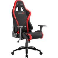 Sharkoon SKILLER SGS2 Gaming Seat gamestoel Zwart/rood