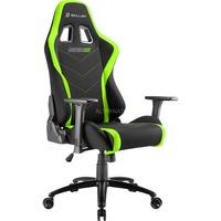 Sharkoon SKILLER SGS2 Gaming Seat gamestoel Zwart/groen