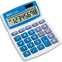 Ibico 208X Bureaurekenmachine Wit/blauw